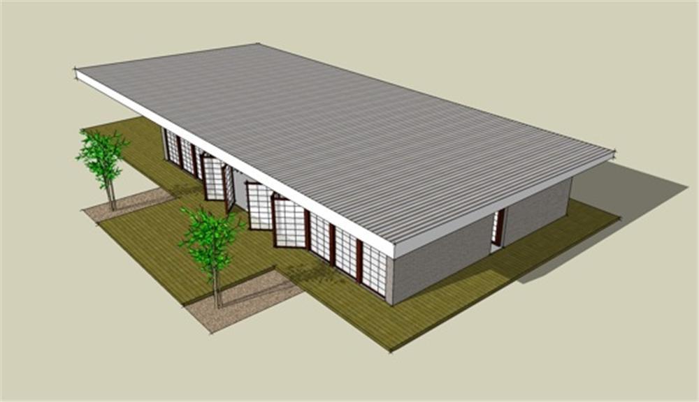 Planos de viviendas planos de casas modernas for Plano de casa quinta moderna